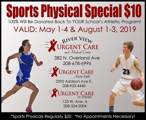 Urgent Care Sports Physicals